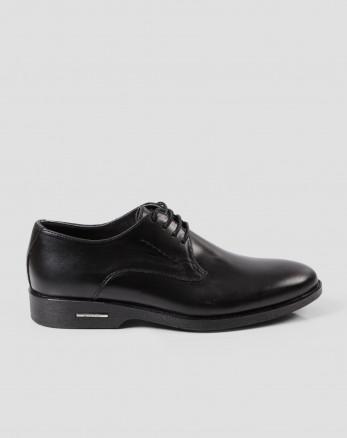 کفش کلاسیک بنددار مشکی 17443101
