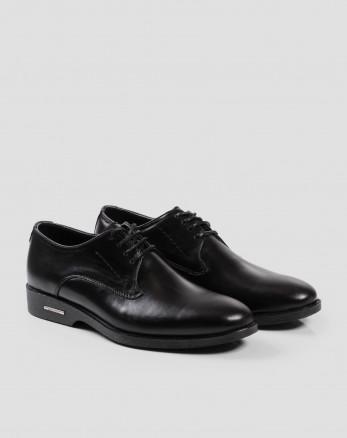 خرید کفش کلاسیک بنددار مشکی 17443101