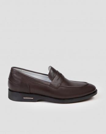 کفش کلاسیک قهوه ای 18243126