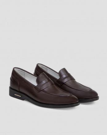 خرید اینترنتی کفش کلاسیک قهوه ای مردانه 18243126