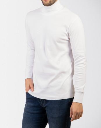 خرید اینترنتی یقه اسکی مردانه سفید 18328108