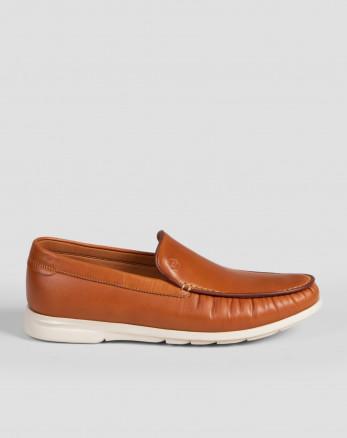 کفش کالج مردانه عسلی 18344157