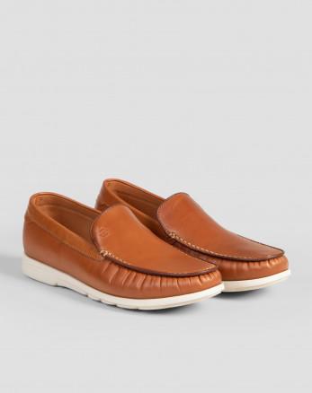 خرید اینترنتی کفش کالج مردانه عسلی 18344157