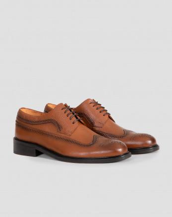 خرید کفش رسمی مردانه چرم طبیعی مشکی 18443143