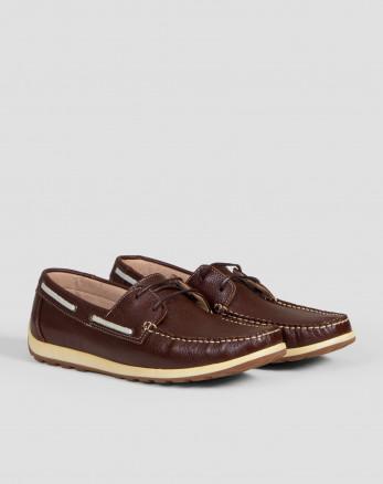 خرید اینترنتی کفش کالج مردانه قهوه ای 19244192