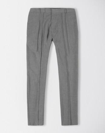 شلوار پارچه ای مردانه خاکستری 19248133