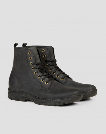 کفش نیم بوت مشکی شیک مردانه 19373104