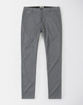 شلوار پارچه ای مردانه خاکستری 19348136