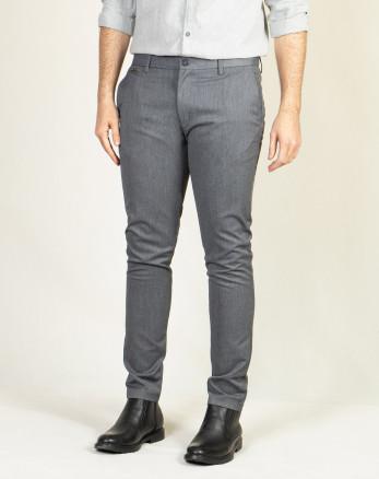 خرید اینترنتی شلوار پارچه ای مردانه خاکستری 19348136