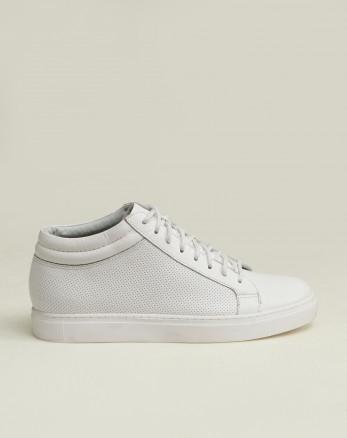 کفش نیم بوت مردانه روزمره سفید 19370107