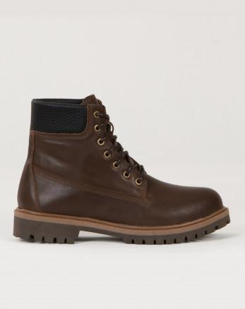 کفش نیم بوت مردانه بندی قهوه ای 19373105