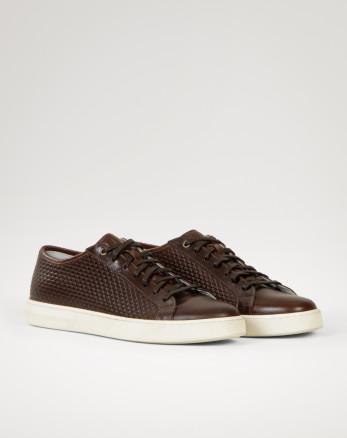 خرید کفش بندی مردانه قهوه ای 19344218