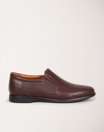 کفش رسمی مردانه قهوه ای 19443151