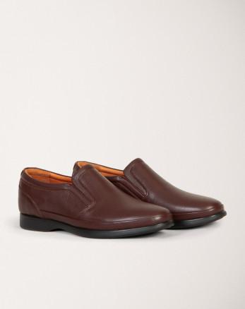 خرید اینترنتی کفش رسمی مردانه قهوه ای 19443151