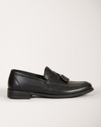 کفش کالج مردانه مشکی 18443139