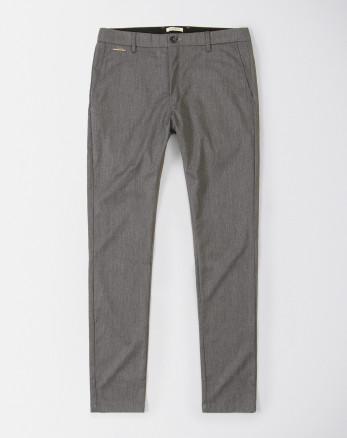 شلوار پارچه ای  مردانه خاکستری تیره   19348136