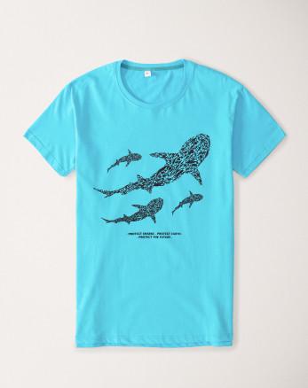 تیشرت مردانه آبی 20129361