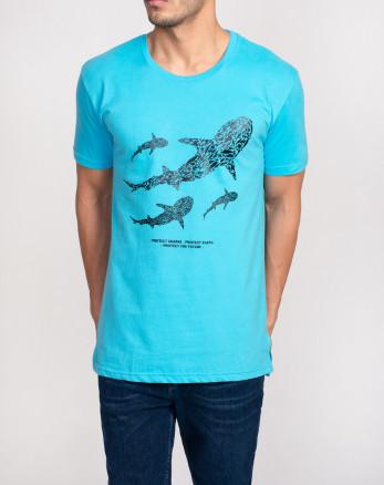 تیشرت شیک مردانه آبی 20129361