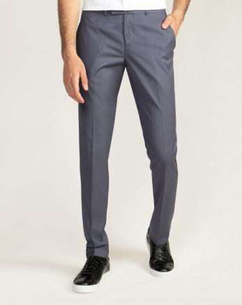 شلوار پارچه ای مردانه  شیک خاکستری 19448142