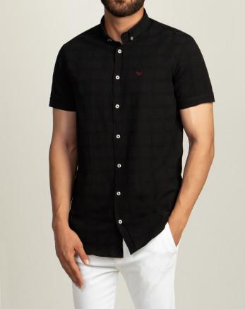 خرید پیراهن مردانه آستین کوتاهم شکی  20222220