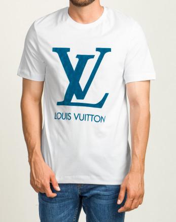 خرید اینترنتی تیشرت آستین کوتاه مردانه چاپ برجسته سفید 20196127