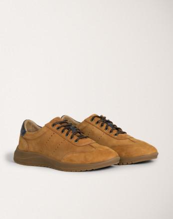 کفش روزمره مردانه عسلی 20244265