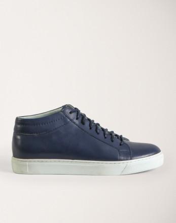 کفش روزمره مردانه سرمه ای 19370106