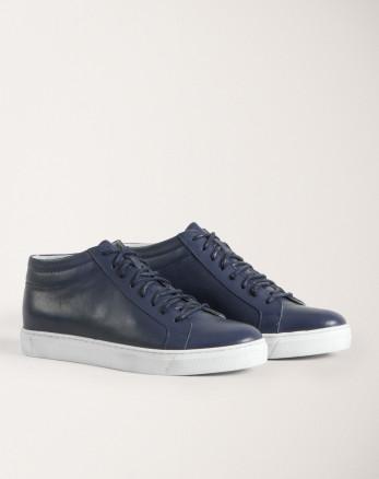 خرید اینترنتی کفش روزمره مردانه سرمه ای 19370106