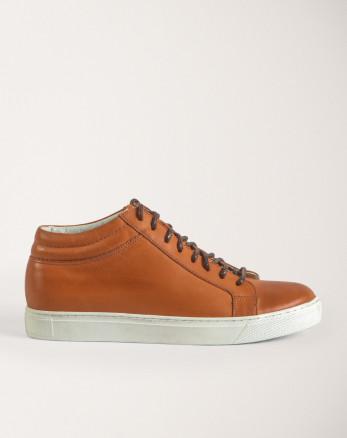 کفش روزمره مردانه عسلی 19370106