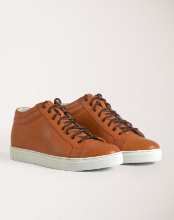 خرید اینترنتی کفش روزمره مردانه عسلی 19370106