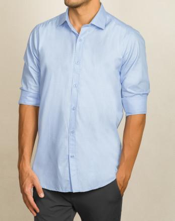 خرید پیراهن مردانه آستین ابی روشن   20221212