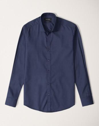 پیراهن مردانه آستین سرمه ای روشن   20221212