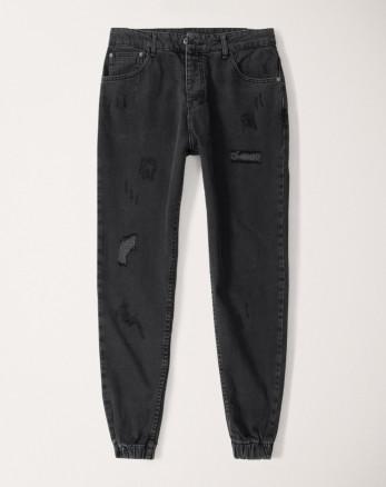شلوار جین مردانه خاکستری تیره 20212114