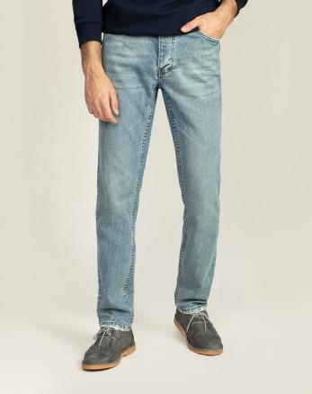 خرید اینترنتی شلوار جین مردانه آبی روشن 20212107