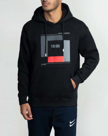 خرید اینترنتی هودی مردانه کلاهدار مشکی 20371131